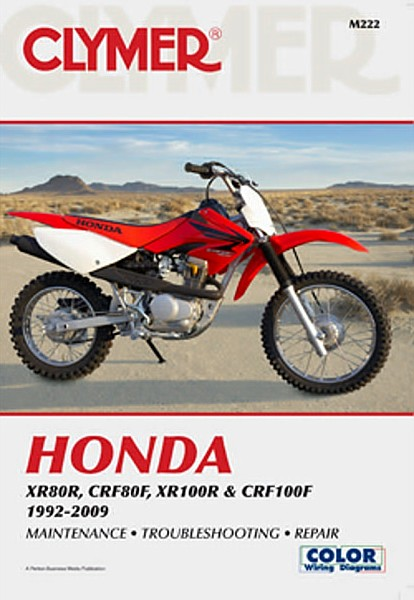1992 2009 honda cr crf xr 80 100 crf80 crf100 xr80 xr100. Black Bedroom Furniture Sets. Home Design Ideas